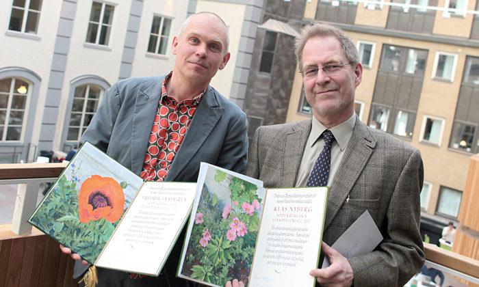 Söderbergska handelspriset 2013 till professor Klas Nyberg och docent Fredrik Sandgren