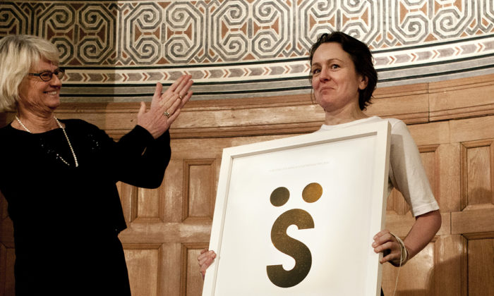 Torsten och Wanja Söderbergs pris 2014 till den svenska modedesignern Ann-Sofie Back