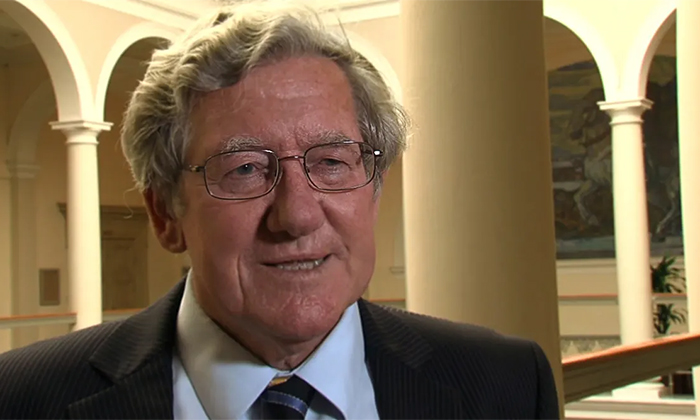 Professor David Farrington mottar Stockholmspriset i kriminologi 2013